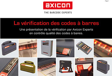 Le Guide Axicon de la vérification des codes à barres
